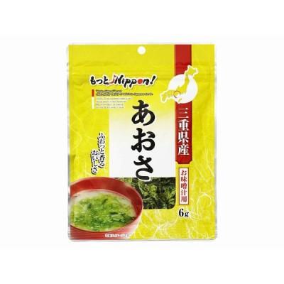 もっとニッポン 三重県産 あおさ 6g まとめ買い(×10)