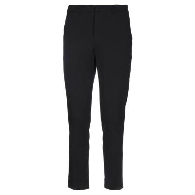 EREDI DEL DUCA パンツ ブラック 44 コットン 65% / ナイロン 30% / ポリウレタン 5% パンツ