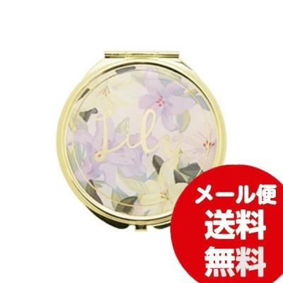 ミラー 等倍鏡 拡大鏡 FLOWERING フラワーリング ミラー Lily ホワイト GMR0075-WH