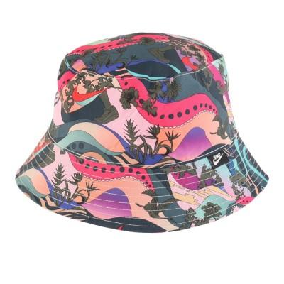 NIKE帽子アイコンクラッシュ バケットハット CW5901-663 FA20レッド