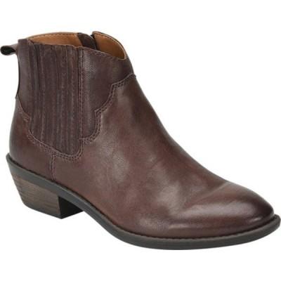 コンフォーティバ ブーツ&レインブーツ シューズ レディース Virden Bootie (Women's) Cocoa Brown Smooth Leather