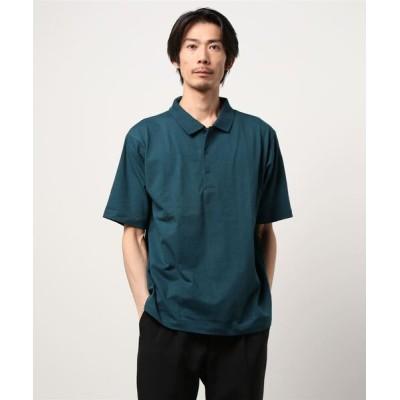 TAKA-Q / エムエフエディトリアルメンズ/m.f.editorial:MEN 綿天竺 ルーズフィット半袖ポロシャツ MEN トップス > ポロシャツ