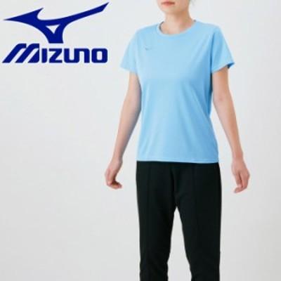 【メール便送料無料】ミズノ ナビドライTシャツ 半袖 丸首 レディース 32MA139021