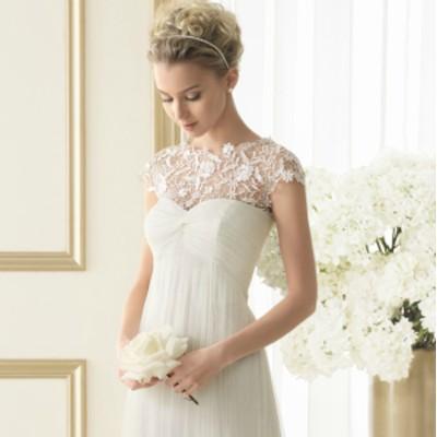 ウェディングドレス 白 二次会 花嫁 ウェディングドレス 大きいサイズ 小さいサイズ レース フィッシュテールドレス 結婚式