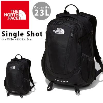 リュックサック ザ・ノースフェイス THE NORTH FACE シングルショット Single Shot メンズ レディース ブラック 23L ザック バックパック nm71903
