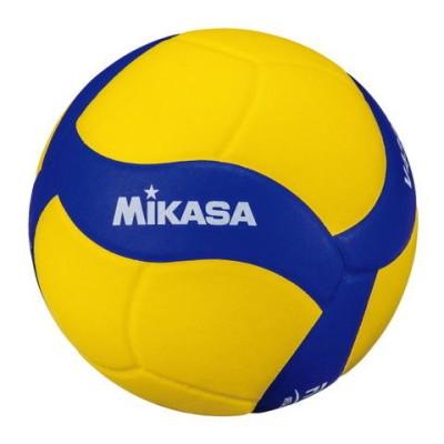 ミカサ バレーボール 4号球 (人工皮革) MIKASA (ブルー/イエロー) V430W 【返品種別A】