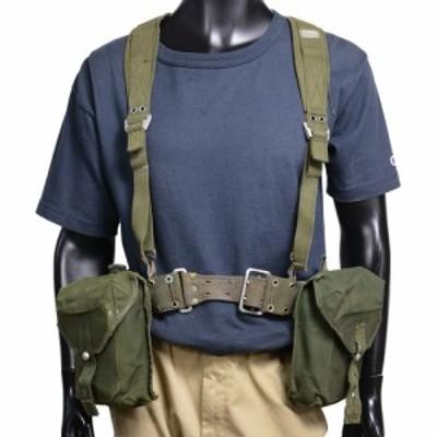 スウェーデン軍放出品 装備セット M304 キャンバス素材 OD[ra01668]