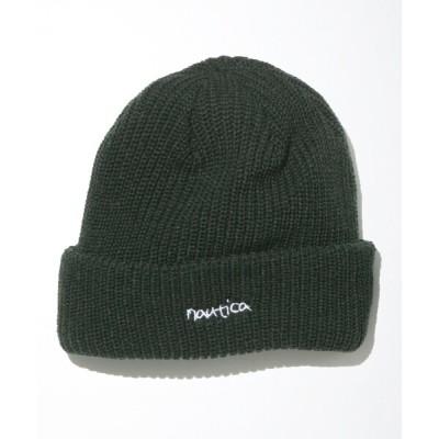 "FREAK'S STORE / NAUTICA/ノーティカ Knit Cap ""Hand Lettering""/ニットキャップ MEN 帽子 > ニットキャップ/ビーニー"