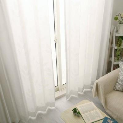 1cm刻み カーテン おしゃれ 送料無料 白 ミラーレース 安い 遮熱 保温 UVカット トリガー ホワイト 1.5倍ヒダ