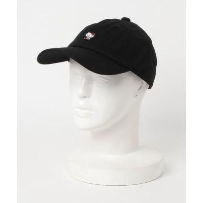 帽子 キャップ 【 SANRIO 】 エンブロイダリー BBカーブバイザーキャップ