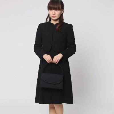 ブラックギャラリー BLACK GALLERY ちびスタンドジャケットアンサンブル (ブラック) [ブラックフォーマル 喪服 礼服]