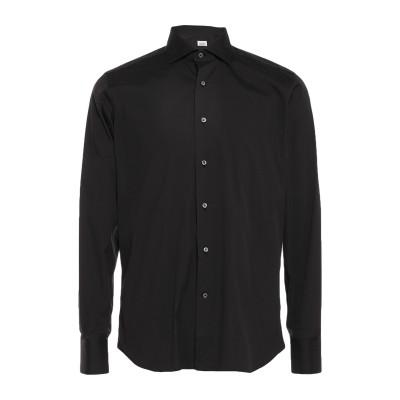 ALESSANDRO GHERARDI シャツ ブラック 40 コットン 76% / ナイロン 21% / ポリウレタン 3% シャツ