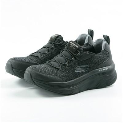 【フットプレイス】 スケッチャーズ SKECHERS D'LUX WALKER レディース スニーカー シューズ 靴 ランニング ウォーキング HI−149004 レディース ブラック 24.0cm FOOT PLACE