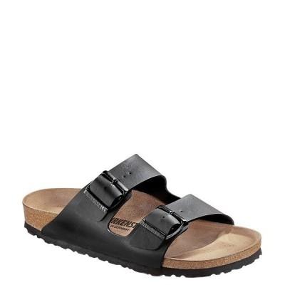 ビルケンシュトック レディース サンダル シューズ Arizona Double Banded Buckle Slip-On Sandals Black