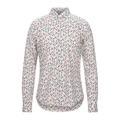OGNUNOLASUA by CAMICETTASNOB シャツ ホワイト 40 コットン 100% シャツ