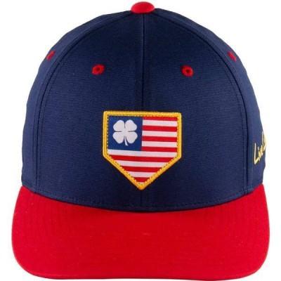 ブラック クローバー メンズ 帽子 アクセサリー Black Clover + Rawlings USA Fitted Hat