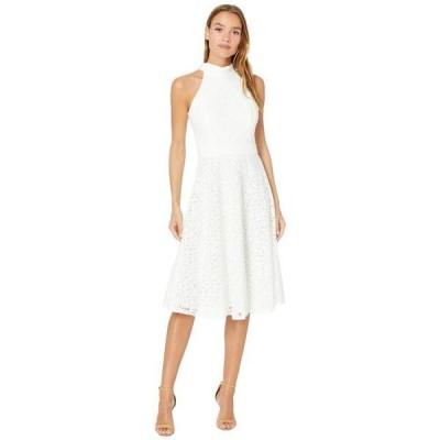 ユニセックス スカート ドレス Mock Neck Dress with Flare Skirt