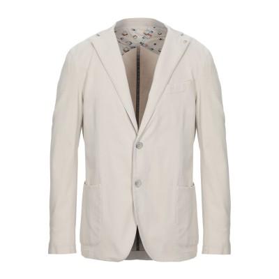 BARBATI テーラードジャケット ベージュ 54 コットン 98% / ポリウレタン 2% テーラードジャケット