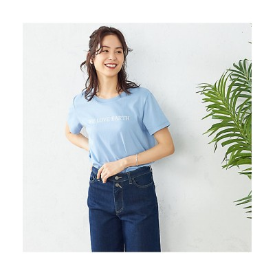 <COMME CA ISM(Women)/コムサ イズム> プリントTシャツ(1264CT05) 23【三越伊勢丹/公式】