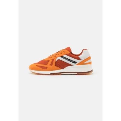 スコッチアンドソーダ スニーカー メンズ シューズ VIVEX - Trainers - orange/multicolor
