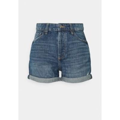 イー ディ シー バイ エスプリ レディース デニムパンツ ボトムス Denim shorts - blue medium wash blue medium wash