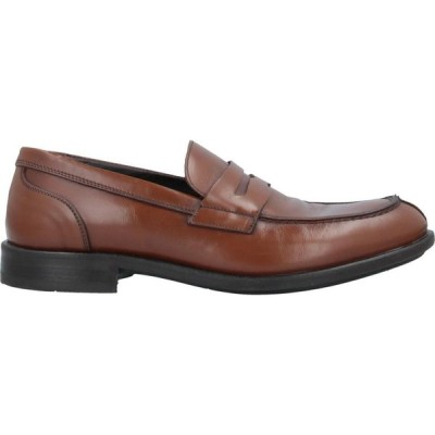 MFW コレクション MFW COLLECTION メンズ ローファー シューズ・靴 loafers Brown