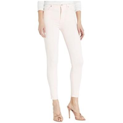 セブン・フォー・オール・マンカインド レディース パンツ High-Waist Ankle Skinny in Solid Pink