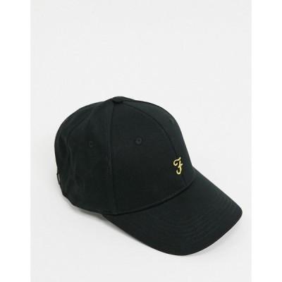 ファーラー Farah メンズ キャップ 帽子 regalia black cap ブラック