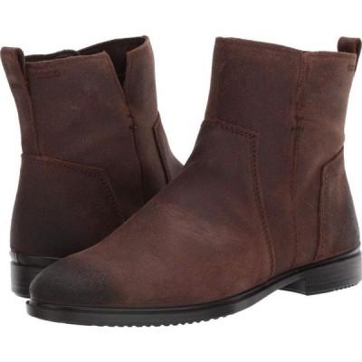 エコー ECCO レディース ブーツ ショートブーツ シューズ・靴 Touch 15 B Ankle Boot Coffee Cow Suede