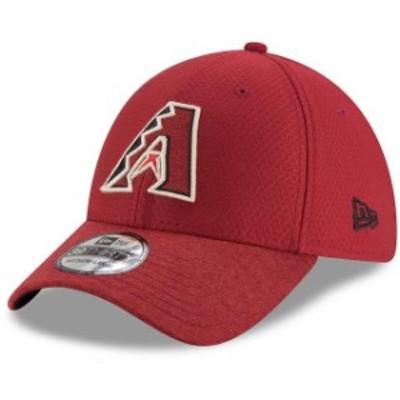 New Era ニュー エラ スポーツ用品  New Era Arizona Diamondbacks Red Popped Shadow 39THIRTY Flex Hat