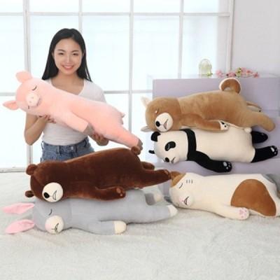 抱き枕 ぬいぐるみ あったか 大きい かわいい ぐ〜たらしたくなる抱き枕 床ごこち ギフト プレゼント 贈り物