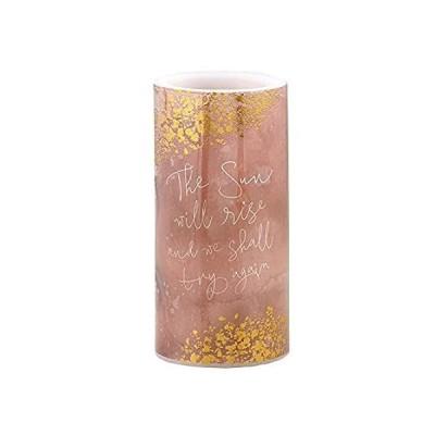 heartfelt Shimmer-LED Candle-G - Medium - Sun Will Rise (Pack of 2)好評販売中