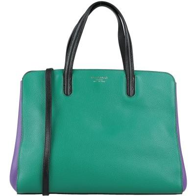 クルチアーニ CRUCIANI ハンドバッグ グリーン 革 100% ハンドバッグ