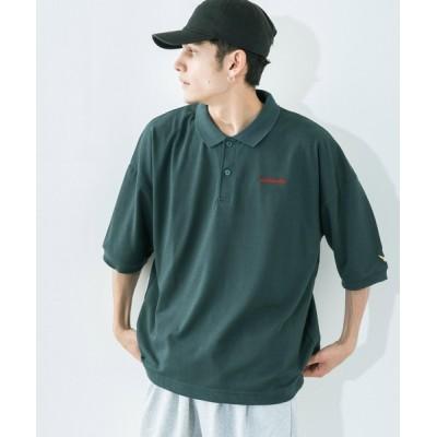 Ressaca / Mark Gonzales/マークゴンザレス ロゴ刺繍 ビッグシルエット 半袖ラガーシャツ MEN トップス > ポロシャツ