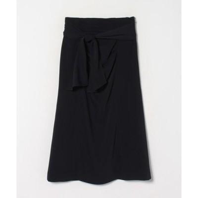 LANVIN en Bleu / ランバン オン ブルー ドレープタイトスカート