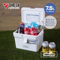 BASELAND 日本製 專業保溫保冰桶 7.5L / 白色