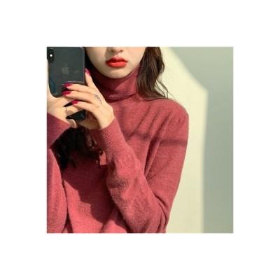【送料無料】秋冬 年 女性 タートルネック 着やせ 着やせ インナー ニットシャツ | 364331_A63992-2168415