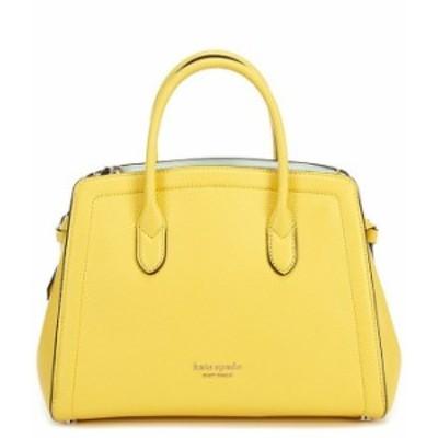 ケイトスペード レディース ハンドバッグ バッグ Knott Pebble Leather Medium Satchel Bag Yellow Sesame