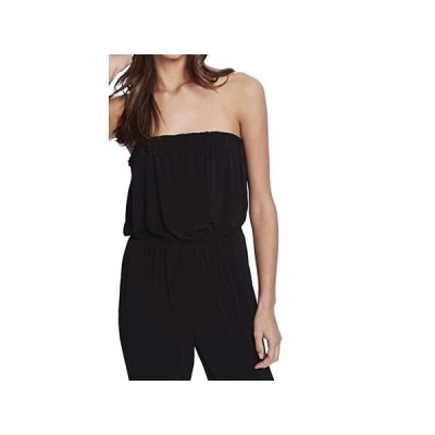 1.STATE Strapless Knit Jumpsuit レディース 部屋着 パジャマ Rich Black