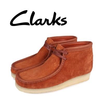 【スニークオンラインショップ】 クラークス clarks ワラビーブーツ メンズ WALLABEE BOOT ブラウン 26154818 メンズ その他 UK7.0-25.0 SNEAK ONLINE SHOP
