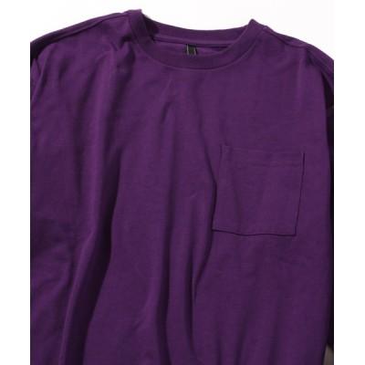 INA STUDIOS ZOO / 「INASTUDIOS SELECT」ポケット付きロングTシャツ MEN トップス > Tシャツ/カットソー