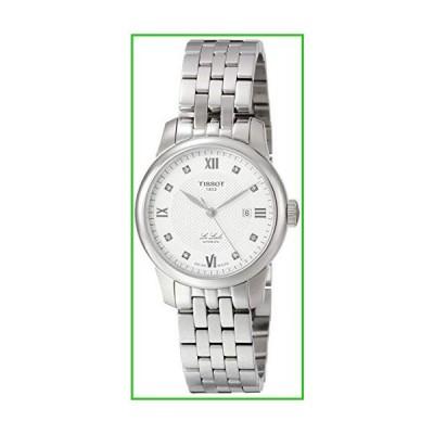 ティソ Tissot Le Locle Automatic Diamond Silver Dial Ladies Watch T006.207.11.036.00[送料無料]