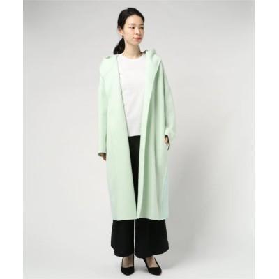 DOUBLE STANDARD CLOTHING / Super100's リバーリバーコート WOMEN ジャケット/アウター > チェスターコート