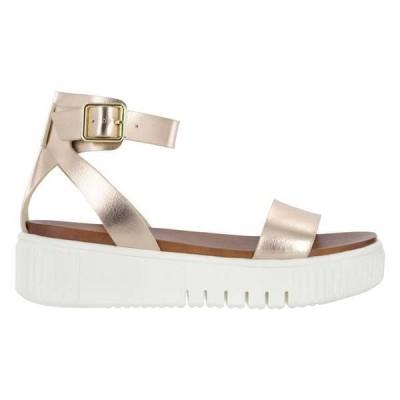 ミア レディース サンダル シューズ Lunna Metallic Platform Sandals
