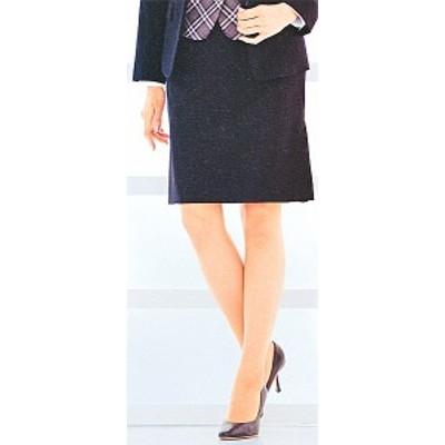 FS4051-1 インサイドプリーツスカート(9号:54cm丈) 全1色 (フォーク FOLK ヌーヴォ NUOVO 事務服 制服)