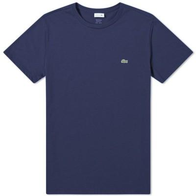 ラコステ Lacoste メンズ Tシャツ トップス classic fit tee Navy