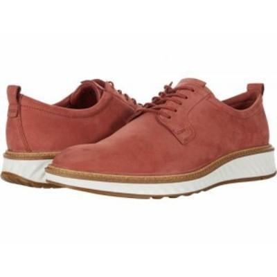 ECCO エコー メンズ 男性用 シューズ 靴 オックスフォード 紳士靴 通勤靴 ST.1 Hybrid Plain Toe 2.0 Cayenne Cow Nubuck【送料無料】