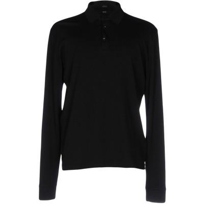BOSS HUGO BOSS ポロシャツ ブラック L 100% コットン ポロシャツ