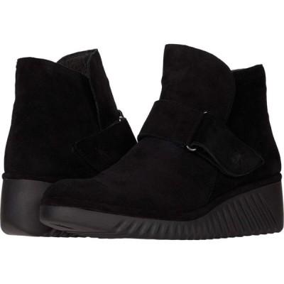 フライロンドン FLY LONDON レディース シューズ・靴 LABE227FLY Black Silky Leather