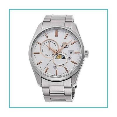 ORIENT 「サン&ムーン」自動2トーンローズゴールドサファイアガラス腕時計 RA-AK0301S【並行輸入品】